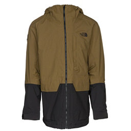The North Face Repko Mens Insulated Ski Jacket, Military Olive-TNF Black, 256