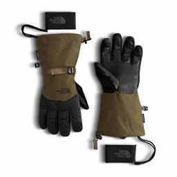 The North Face GORE-TEX Montana Gloves, Military Olive-TNF Black, 256