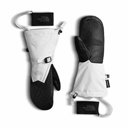 The North Face GORE-TEX Montana Womens Mittens, TNF White-TNF Black, 256