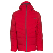 The North Face Cirque Down Mens Insulated Ski Jacket, Centennial Red, medium