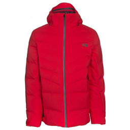 The North Face Cirque Down Mens Insulated Ski Jacket, Centennial Red, 256