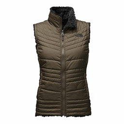 The North Face Mossbud Swirl Womens Vest, New Taupe Green-TNF Black, 256