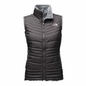 The North Face Mossbud Swirl Womens Vest, Asphalt Grey-Mid Grey, medium