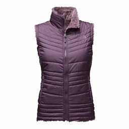 The North Face Mossbud Swirl Womens Vest, Dark Eggplant Purple-Black Plu, 256