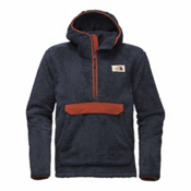 The North Face Campshire Pullover Mens Hoodie, Urban Navy-Brandy Brown, medium