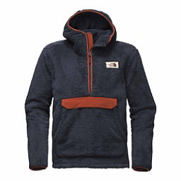 The North Face Campshire Pullover Mens Hoodie, Urban Navy-Brandy Brown, 256