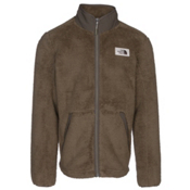 The North Face Campshire Full Zip Mens Jacket, Burnt Olive Green, medium