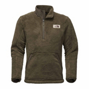 The North Face Campshire Pullover, Burnt Olive Green, medium