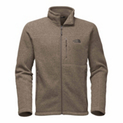 The North Face Gordon Lyons Full Zip Mens Jacket, Falcon Brown Heather, medium