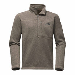 The North Face Gordon Lyons 1/4 Zip Mens Sweater, Falcon Brown Heather, 256
