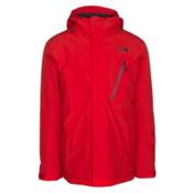 The North Face Descendit Mens Insulated Ski Jacket, Centennial Red, medium