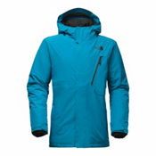 The North Face Descendit Mens Insulated Ski Jacket, Brilliant Blue, medium