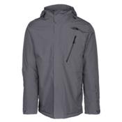 The North Face Descendit Mens Insulated Ski Jacket, Turbulence Grey, medium