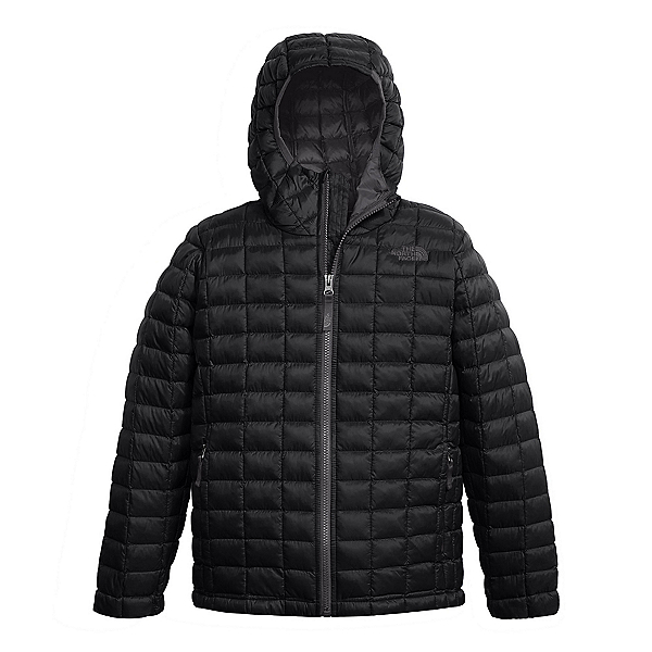 The North Face ThermoBall Hoodie Kids Midlayer, TNF Black, 600