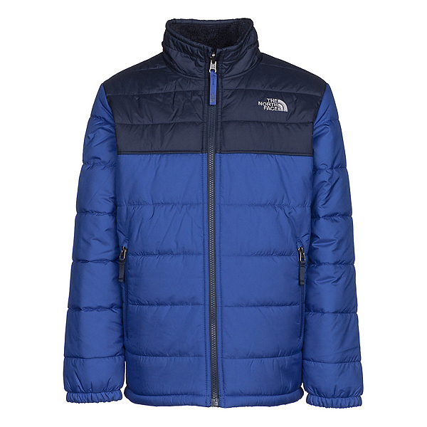The North Face Reversible Mount Chimborazo Boys Jacket, Bright Cobalt Blue, 600