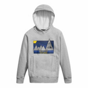 The North Face Logowear Pullover Kids Hoodie, TNF Light Grey Heather, medium