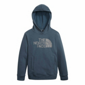 The North Face Logowear Pullover Kids Hoodie, Conquer Blue, medium