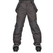 The North Face Snowquest Suspender Kids Ski Pants, Graphite Grey, medium