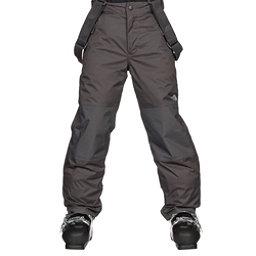 The North Face Snowquest Suspender Kids Ski Pants, Graphite Grey, 256