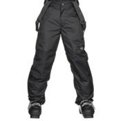 The North Face Snowquest Suspender Kids Ski Pants, TNF Black, medium