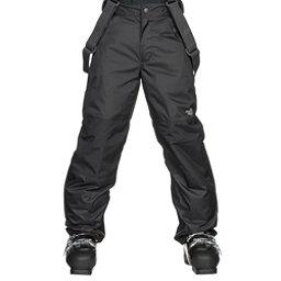 The North Face Snowquest Suspender Kids Ski Pants, TNF Black, 256