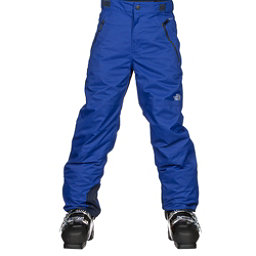 The North Face Freedom Insulated Kids Ski Pants, Bright Cobalt Blue, 256
