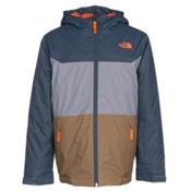 The North Face Brayden Insulated Boys Ski Jacket, Conquer Blue, medium