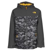 The North Face Brayden Insulated Boys Ski Jacket, Graphite Grey, medium