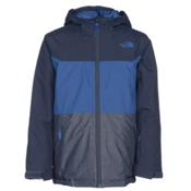The North Face Brayden Insulated Boys Ski Jacket, Cosmic Blue, medium