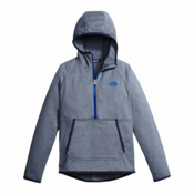 The North Face Tech Glacier 1/4 Zip Kids Midlayer, Cosmic Blue Heather, medium