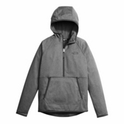The North Face Tech Glacier 1/4 Zip Kids Midlayer, TNF Medium Grey Heather, medium