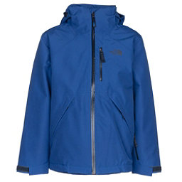 The North Face Fresh Tracks Triclimate Boys Ski Jacket, Bright Cobalt Blue, 256