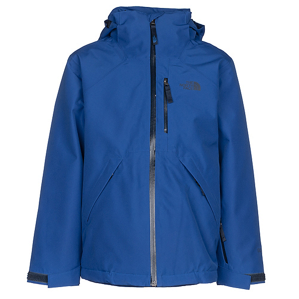 The North Face Fresh Tracks Triclimate Boys Ski Jacket, Bright Cobalt Blue, 600