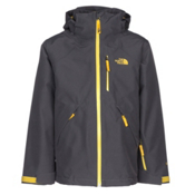 The North Face Fresh Tracks Triclimate Boys Ski Jacket, Graphite Grey, medium
