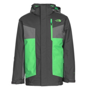 The North Face Axel Insulated Boys Ski Jacket, Graphite Grey, medium