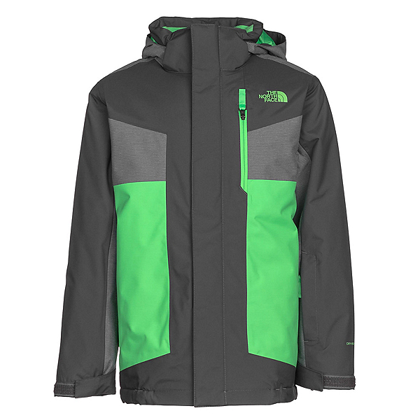 The North Face Axel Insulated Boys Ski Jacket, Graphite Grey, 600
