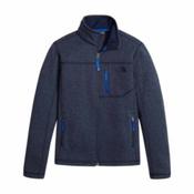 The North Face Gordon Lyons Full Zip Boys Jacket, Cosmic Blue Heather, medium