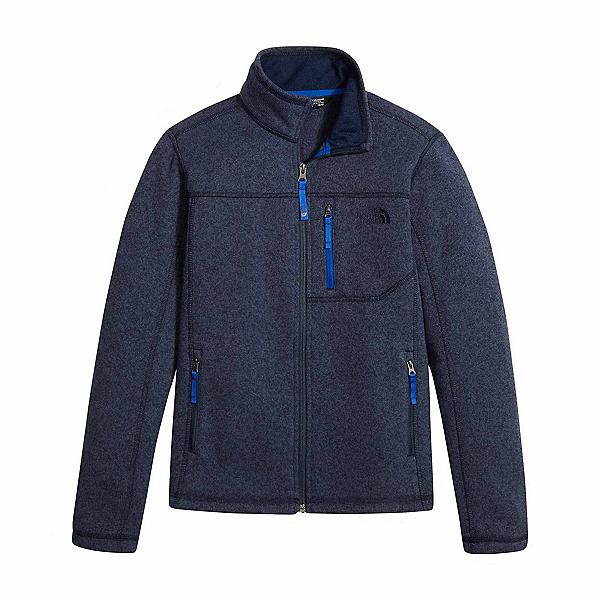 The North Face Gordon Lyons Full Zip Boys Jacket, Cosmic Blue Heather, 600