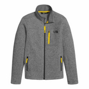The North Face Gordon Lyons Full Zip Boys Jacket, TNF Medium Grey Heather, medium