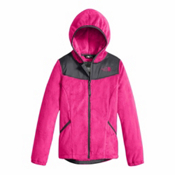 The North Face Oso Hoodie Girls Jacket, Petticoat Pink, medium