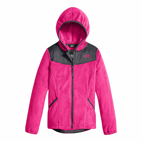The North Face Oso Hoodie Girls Jacket, Petticoat Pink, 600