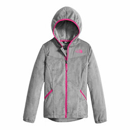 The North Face Oso Hoodie Girls Jacket, Metallic Silver, 256