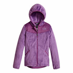 The North Face Oso Hoodie Girls Jacket, Bellflower Purple, 256