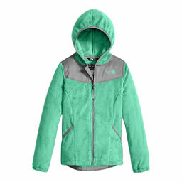 The North Face Oso Hoodie Girls Jacket, Bermuda Green, 256