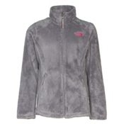 The North Face Osolita Girls Jacket, Metallic Silver, medium