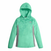 The North Face Oso Fleece Pullover Kids Hoodie, Bermuda Green, medium