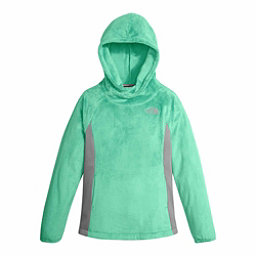 The North Face Oso Fleece Pullover Kids Hoodie, Bermuda Green, 256