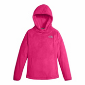 The North Face Oso Fleece Pullover Kids Hoodie, Petticoat Pink, medium