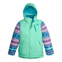 The North Face Leighli Insulated Girls Ski Jacket, Bermuda Green, 256