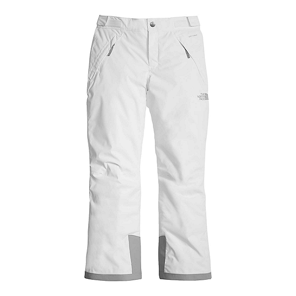 The North Face Freedom Insulated Girls Ski Pants, TNF White, 600